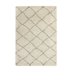 Šedo-krémový koberec Think Rugs Royal Nomadic Cream & Grey, 160 x 230 cm