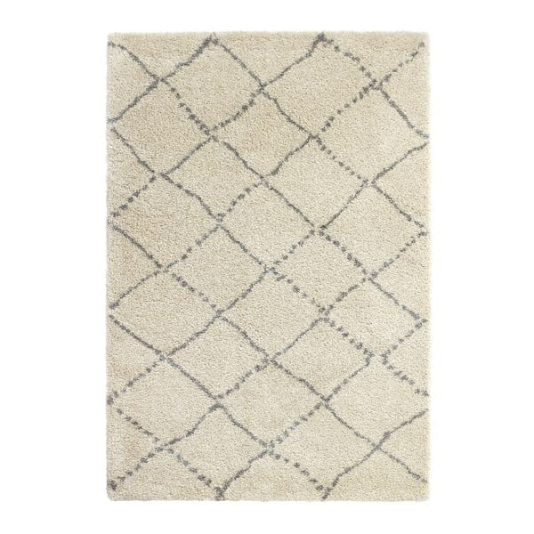 Covor Think Rugs Royal Nomadic Cream & Grey, 120 x 170 cm, gri - crem