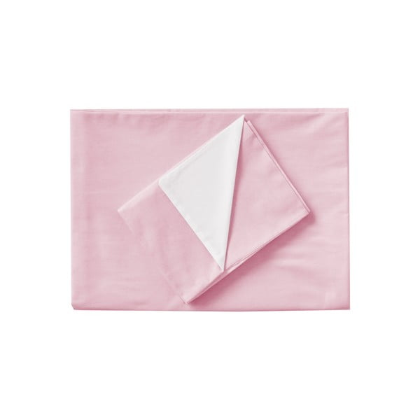 Růžové povlečení Hawke&Thorn Parker Simple,150x200cm +polštář 50x60cm