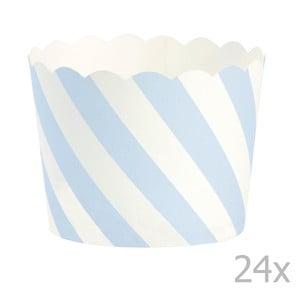 Sada 24 pečicích košíčků Miss Étoile Blue Diagonal
