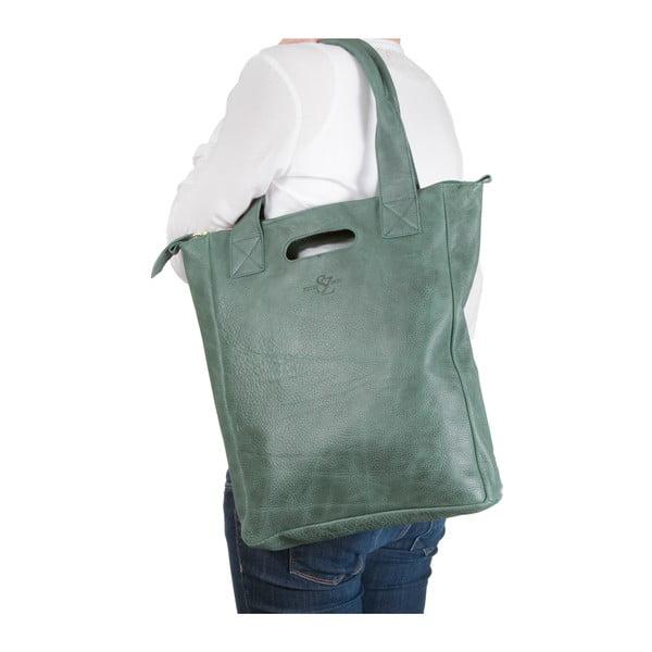 Kožená taška Marilla Cupboard Green