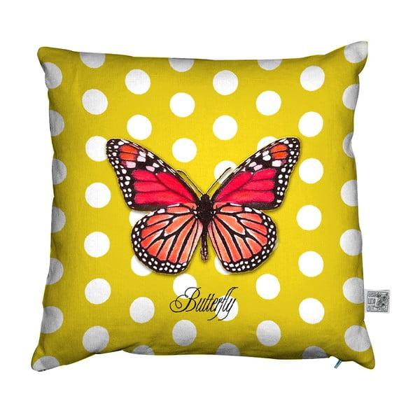 Polštář Butterfly, 45x45 cm