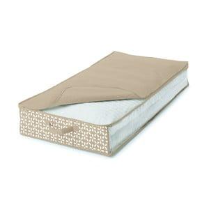 Béžový úložný box pod postel Cosatto Lily, 100 x 50 cm