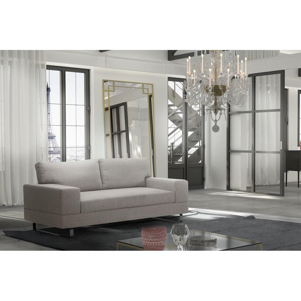 canapea cu 3 locuri corinne cobson dahlia crem bonami. Black Bedroom Furniture Sets. Home Design Ideas