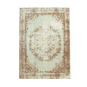 Hnědo-béžový koberec s příměsí bavlny Cotex Sidari, 140 x 200 cm
