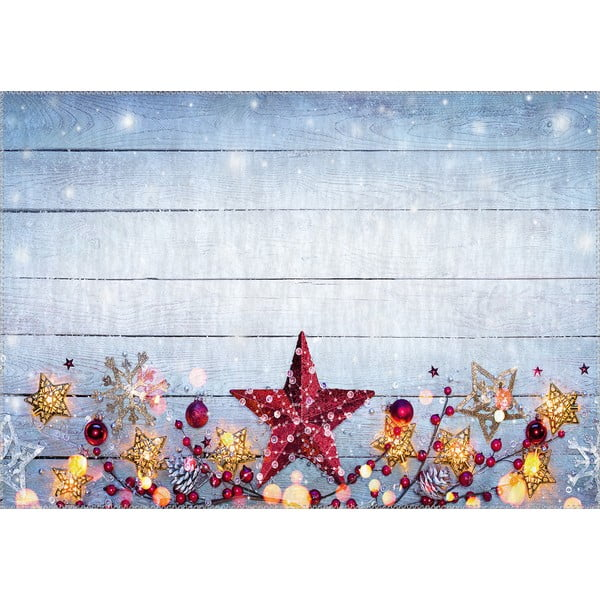 Dywan Vitaus Christmas Period Star, 50x80 cm