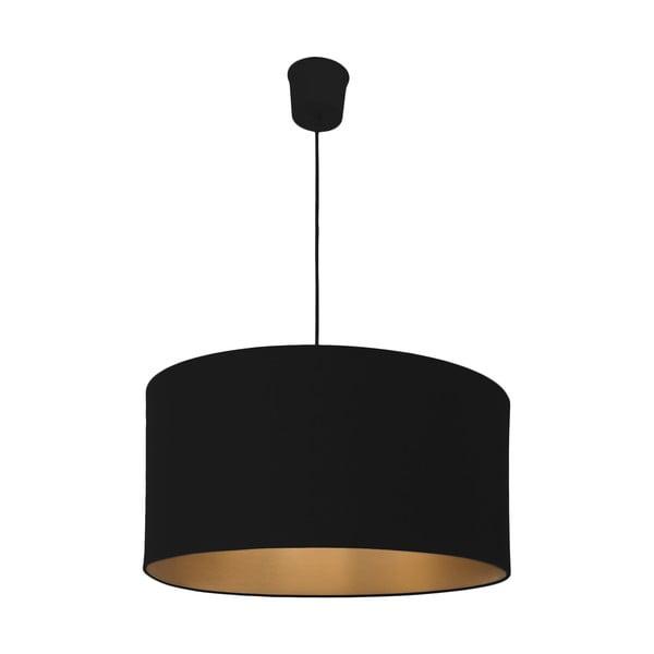 Závěsné světlo Gold Inside Three Black