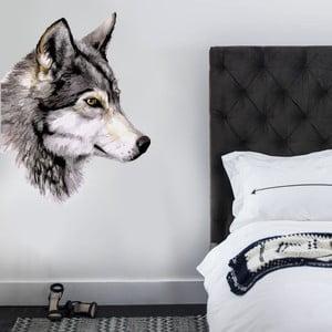 Samolepka na stěnu Wolf, 70x50 cm