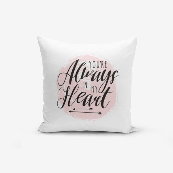 Poszewka na poduszkę z domieszką bawełny Minimalist Cushion Covers Moons, 45x45 cm
