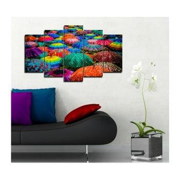 Tablou din mai multe piese 3D Art Mento, 102 x 60 cm