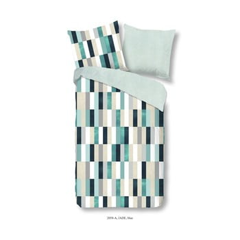 Lenjerie De Pat Din Bumbac Satinat Muller Textiels Premento Jade, 140x200cm