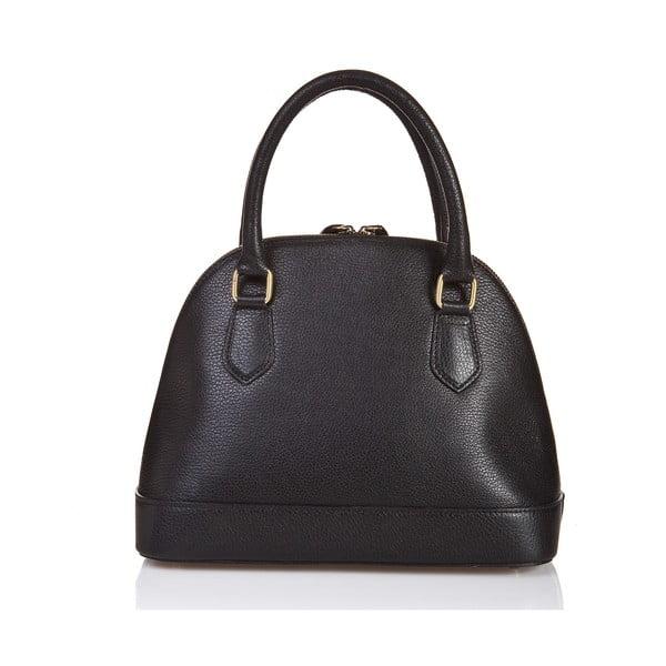 Černá kožená kabelka Giorgio Costa Livorna