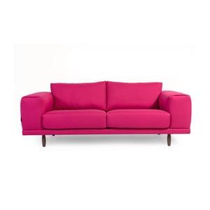 Canapea cu 3 locuri Charlie Pommier Relax, roz
