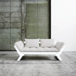 Canapea extensibilă Karup Bebop White/Vision