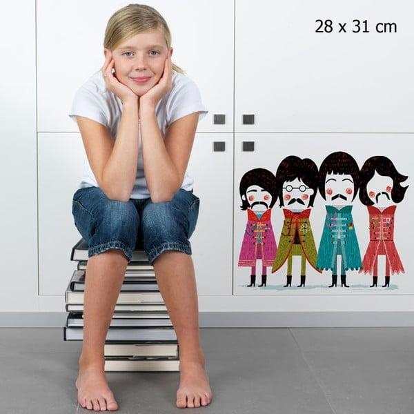 Samolepka Beatles 28x31 cm