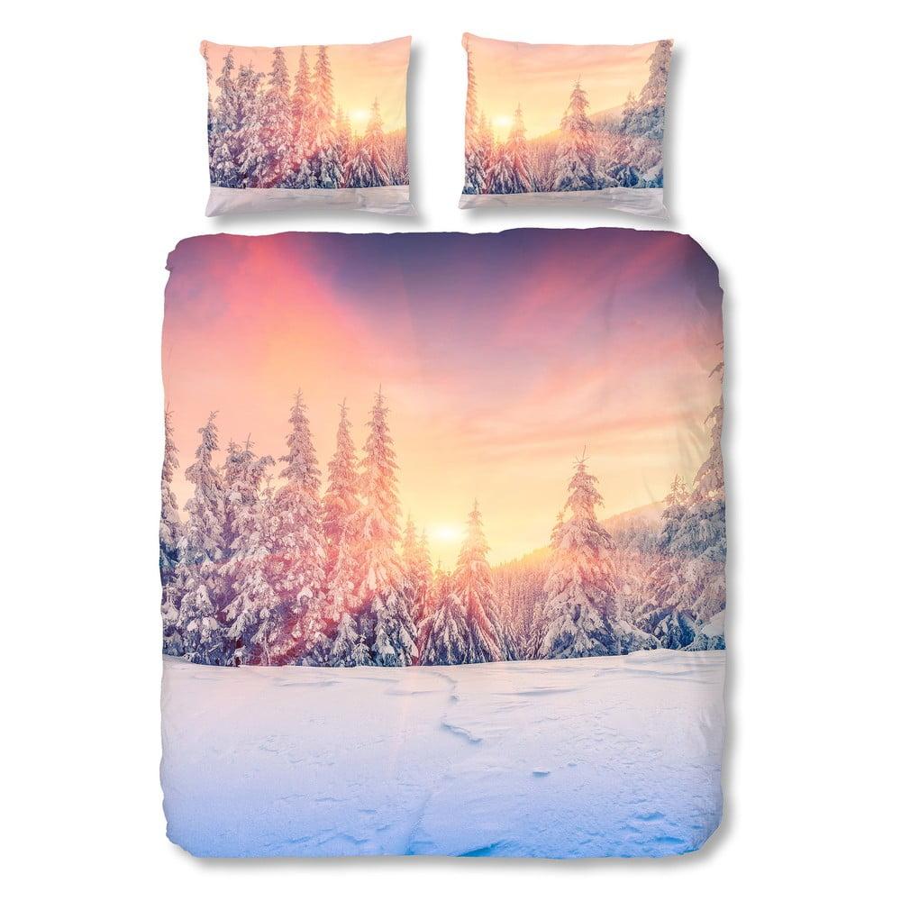 Bavlněné povlečení Müller Textiel Snow, 140 x 200 cm