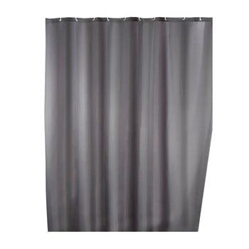 Perdea duș anti mucegai Wenko, 180x200cm, gri