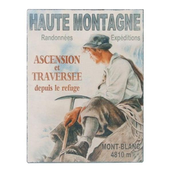 Nástěnná cedule Antic Line Haute Montagne,25x33cm