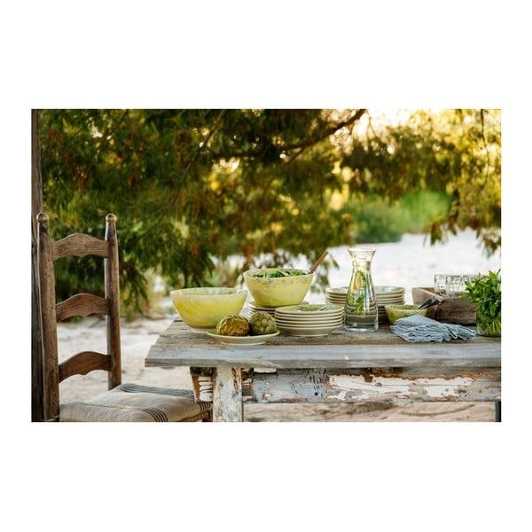 Zelený keramický talíř Costa Nova Madeira, ⌀27cm