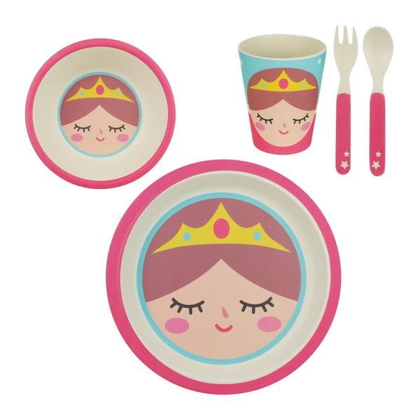 Sada dětského bambusového nádobí Le Studio Princesse