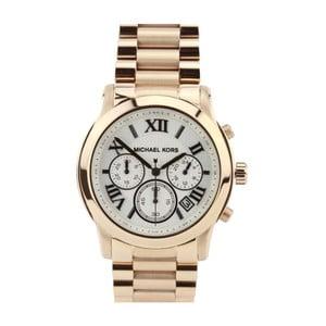 Unisex hodinky zlaté barvy s černobílým ciferníkem Michael Kors
