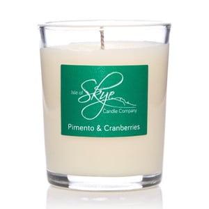 Lumânare cu aromă de afine, piper jamaican și cuișoare Skye Candles Container, timp de ardere 12 ore