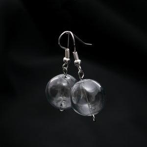 Cercei din sticlă ko-ra-le Crystal