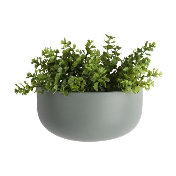 Ghiveci suspendat din ceramică PT LIVING Nest, verde mat