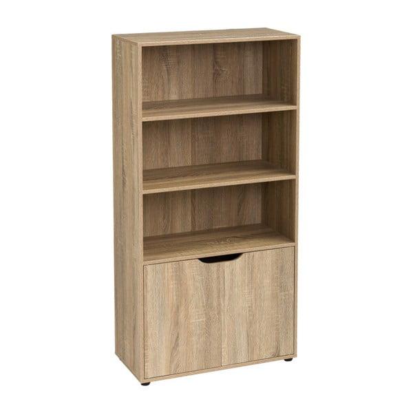 Drewniana biblioteczka z 3 półkami Unimasa Medida