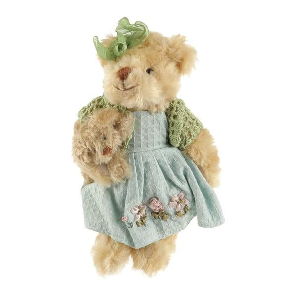 Dekorativní plyšový medvídek 22 cm, světle hnědý