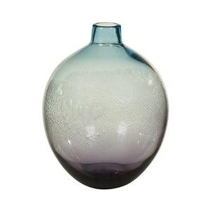 Vază decorativă din cristal Santiago Pons Ryde, Ø 22 cm, albastru