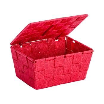 Coș cu capac Wenko Adria, roșu de la Wenko