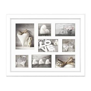 Ramă foto pentru 8 fotografii Styler Malmo, 41 x 51 cm, alb de la Styler