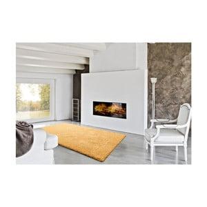 Žlutý koberec Universal Catay, 57 x 110 cm