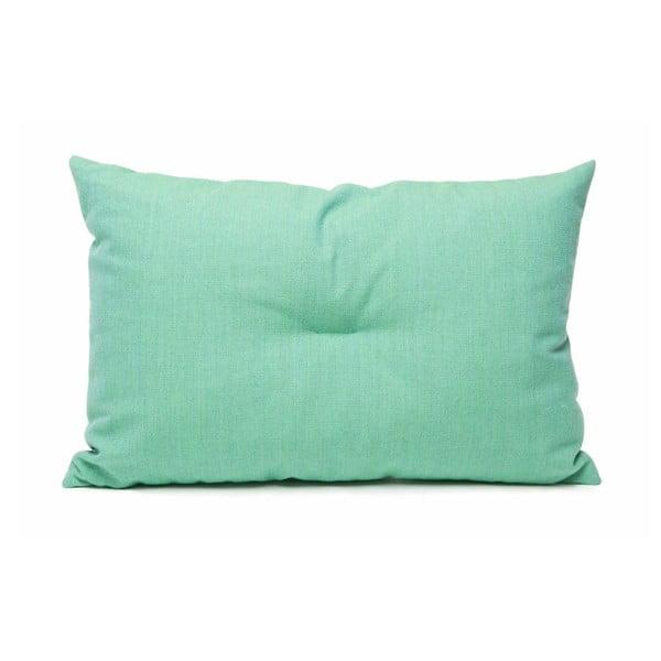 Vlněný polštář Crips, zelený