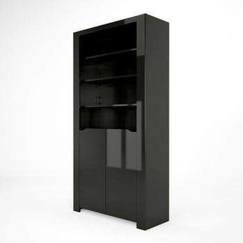 Bibliotecă Artemob Orlando, negru de la Artemob