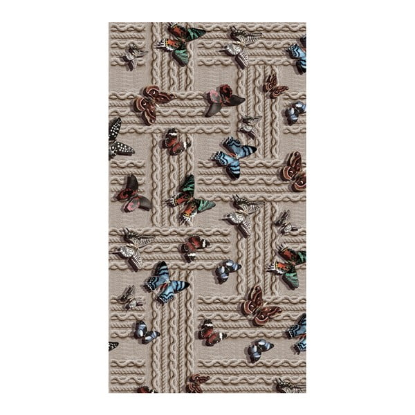 Odolný koberec Vitaus Caretto, 100 x 160 cm