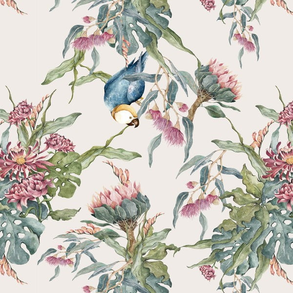 Tapet Dekornik Tropical Parrot, 50 x 280 cm