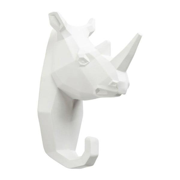 Bílý nástěnný věšák Kare Design Rhino