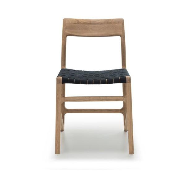 Židle Fawn White Pigment Gazzda, černá