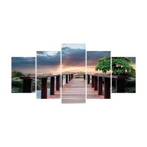 Vícedílný obraz La Maison Des Couleurs Bridge