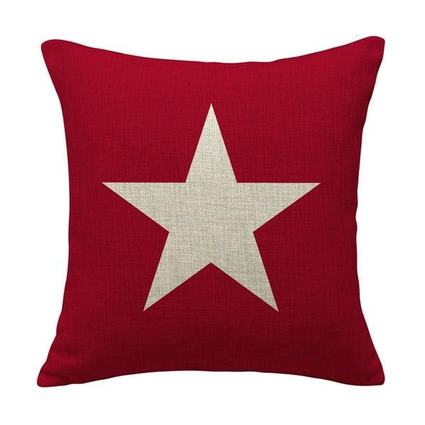 Polštář Star Pink, 45x45 cm