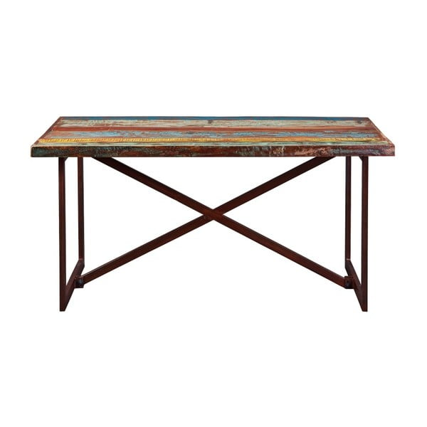 Jídelní stůl z masívního dřeva Interlink Colori