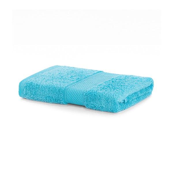 Tyrkysovomodrý uterák DecoKing Bamby, 50×100 cm