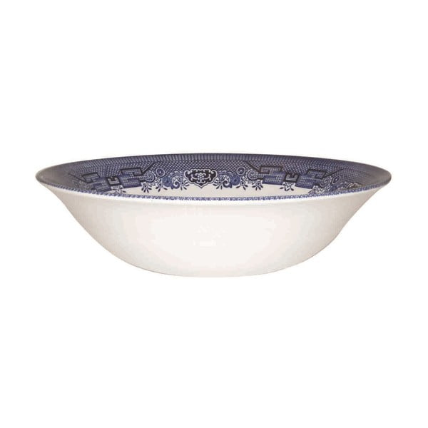 Salátová miska Churchill China Blue Willow, 24 cm