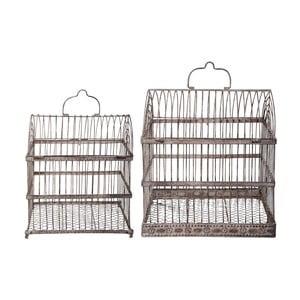 Sada 2 dekorativních ptačích klecí Esschert Design