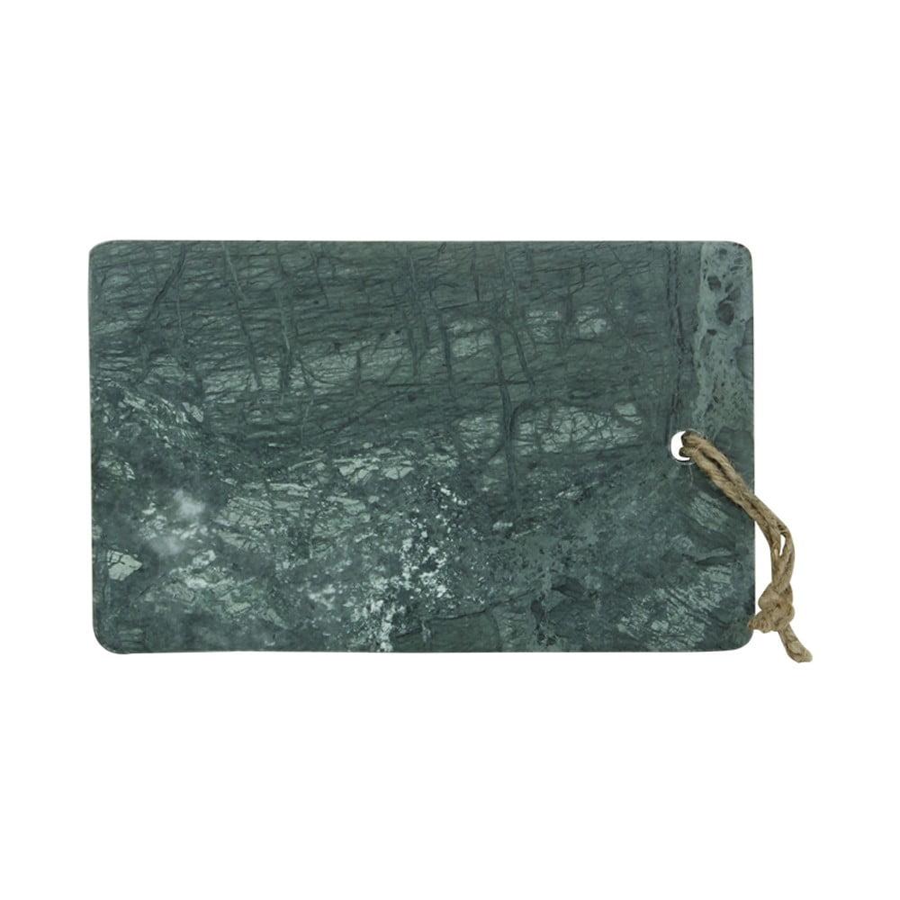 Zelené krájecí prkénko z mramoru Strömshaga, 25 x 15,5 cm