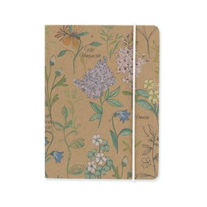 Zápisník A6 GO Stationery Woodland Botanical