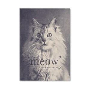Plakát Famous Quote Cat od Florenta Bodart, 30x42 cm