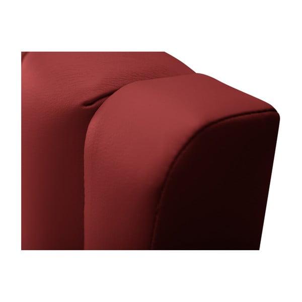 Červené čelo postele Cosmopolitan design Dallas, 180x120cm